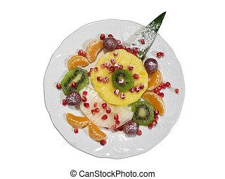 Fresh fruit isolated