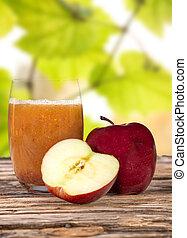 Fresh fruit juice, healthy drinks.