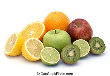 Fresh fruit - Small display of fresh fruit