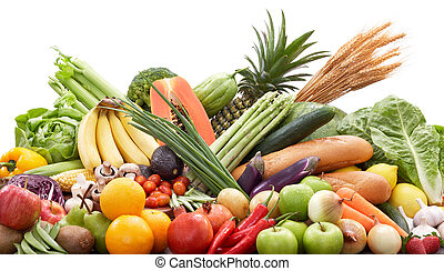 fresh fruits and vegetables - broad variety of vegetables...