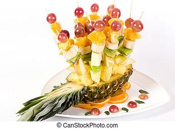 Fresh fruits salad