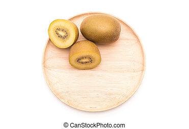 fresh golden kiwi