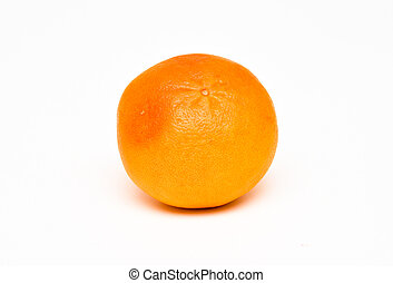 Fresh grapefruit isolated on the white