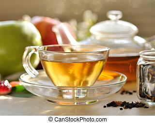 green tea - fresh green tea