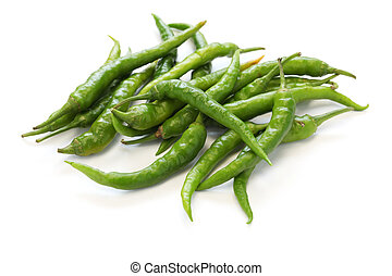 fresh guindillas peppers