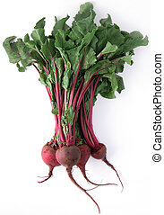 Fresh healthy bunch of beetroot - A fresh bunch of beetroot,...