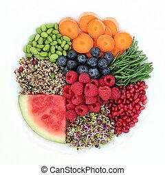 Fresh Healthy Super Food