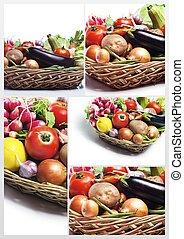fresh Healthy Vegetables