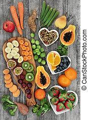 Fresh High Fiber Health Food - Fresh high fiber health food...
