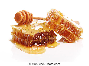 Fresh honeycombs