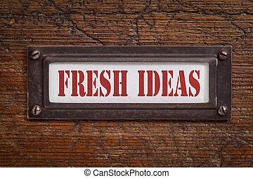 fresh ideas file cabinet label