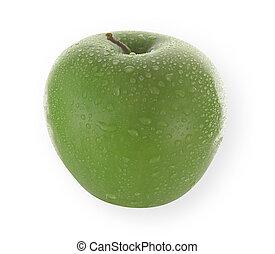 fresh isolated apple