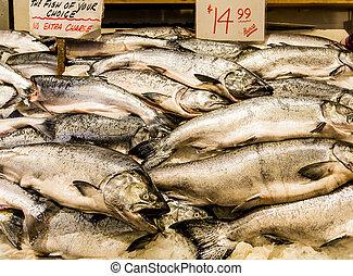 Fresh King Salmon