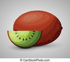 fresh kiwi fruit healthy