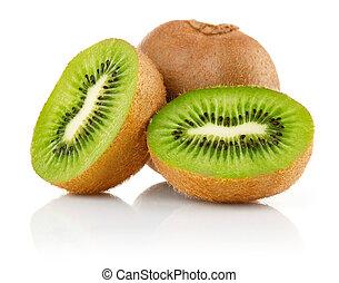 fresh kiwi fruit with cut