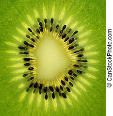 Fresh kiwi slice
