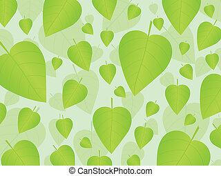 Fresh leafs background 2