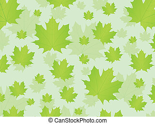 Fresh leafs background