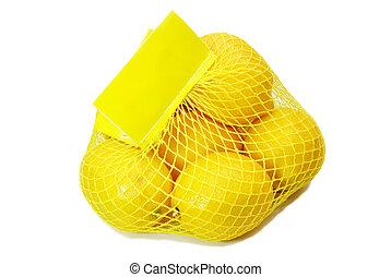 Fresh Lemons in a Bag