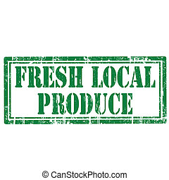 Fresh Local Produce-stamp