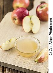 Fresh made Applesauce - Portion of fresh made Applesauce (...