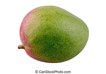 Fresh mango on a white background