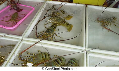 Fresh market Seafood in Thailand