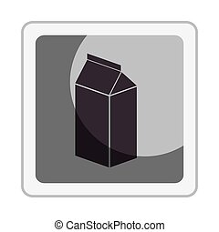 fresh milk box icon