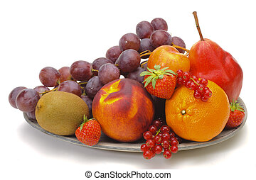 fresh mixed fruits