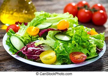 Fresh mixed salad
