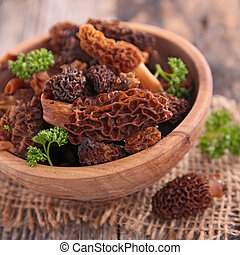 fresh morel