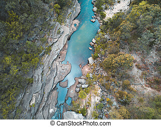 Fresh Mountain Creek Blue Mountains Australia