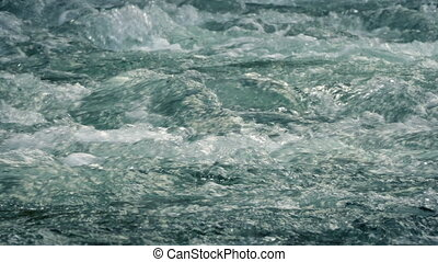 Fresh Mountain River Closeup - Closeup of clear fresh...