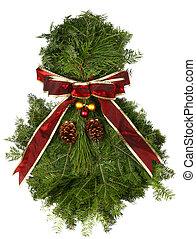 Fresh Natural Christmas Wreath
