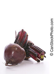 fresh organic beet root prepared for soup