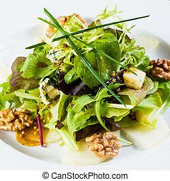 Fresh organic vegetable salad