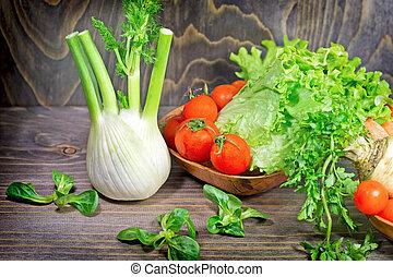 Healthy food - vegetarian diet
