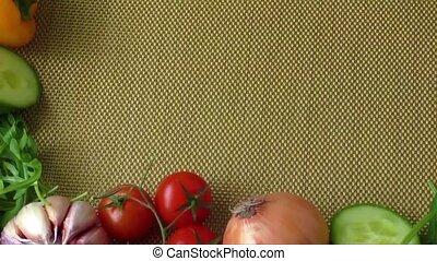 Fresh organic vegetables - Still life with various fresh...