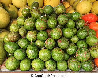 Fresh Passion Fruit in a local market at thailand.
