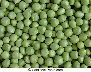 Fresh peas background.