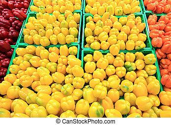 pepper at a farmer's market