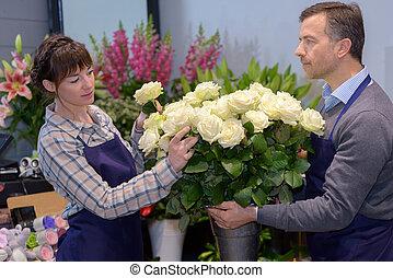 fresh picked flowers