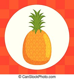 fresh pineapple fruit healthy food