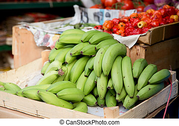 fresh plantains.