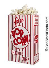 Fresh Popcorn - Fresh Box of Popcorn