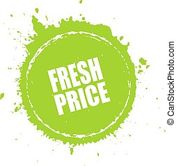 Fresh price splash tag