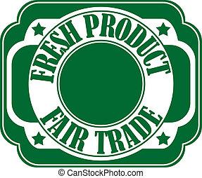 Fresh product label