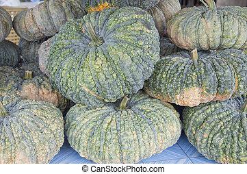 Fresh pumpkin 2