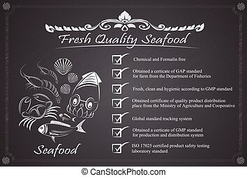 fresh quality seafood