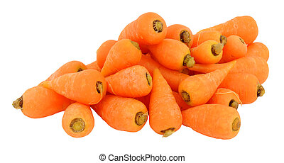 Fresh Raw Chantenay Carrots
